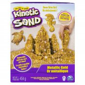 Kinetic Sand Metallic Guld