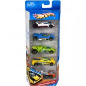 Hot Wheels biler, 5-pack
