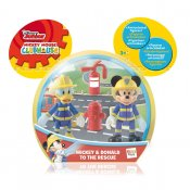 Anders And og Mickey Mouse, figurer, 2-pak