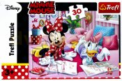 Minnie Mouse og Daisy puslespil - 30 stykker