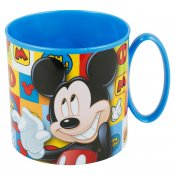 Mickey Mouse, krus i plast 265 ml