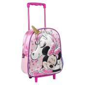 Minnie Mouse og Unicorn 3D Kuffert på hjul Cabin Bag