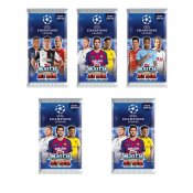 5-PACK UEFA Champions League fodbold kort 2019/2020 Booster