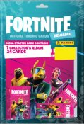 Fortnite Reloaded Mega Album Starter og 24 samlekort