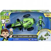 Ben 10 Rust Buggy Ben Transforming Omni-Cycle