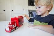 Disney Cars, Mini Racers Mack Transporter