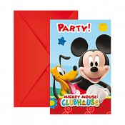 Disney Mickey Mouse 6 pack invitere