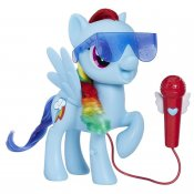 Min lille pony Singing Rainbow Dash