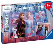 Frost 2 Ravensburger Puslespil 3x49