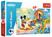 Disney Mickey Mouse puslespil 60 stykker