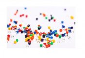 4 Pack - Colored beads vand - 12 g