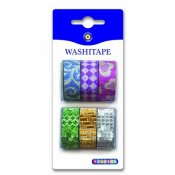 Washi tape 6-pack glitter