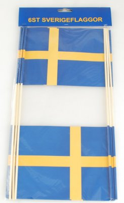 Sverige Flag seks pack