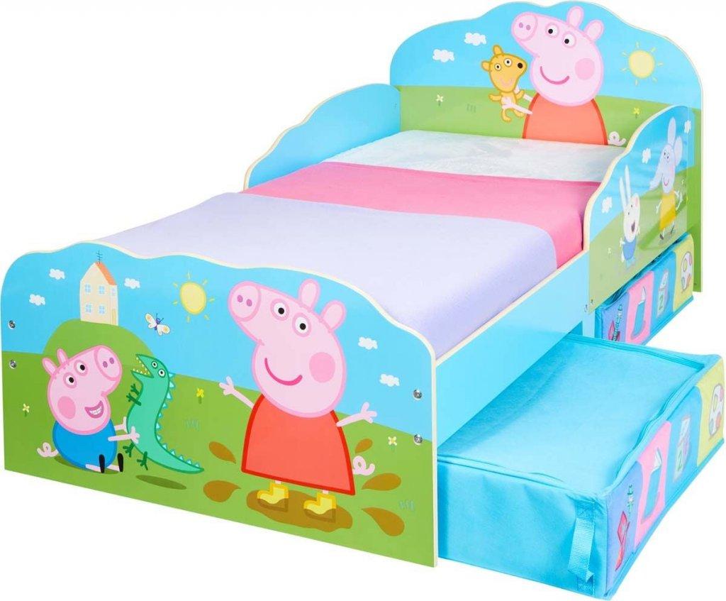 Picture of: Gurli Gris Seng Med Opbevaring Mobler Mobler Bornevaerelser Born Baby Kidsdreamstore Dk